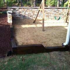 Prestige Landscaping - Services - Retaining Wall